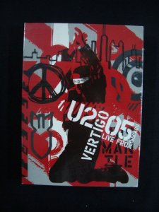 DVD U2 - Vertigo - Live from Chicago - Duplo