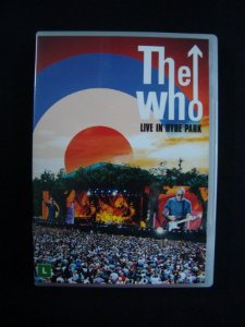 DVD The Who - Live in Hyde Park