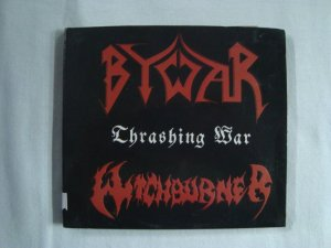 CD Thrashing War - By War + Witchburner