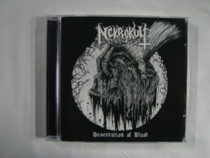 CD Nekrokult - Desecration of Blood