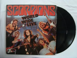 Disco de Vinil - Scorpions - World Wide Live - Duplo