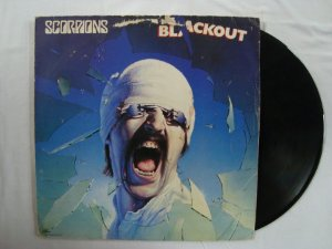 Disco de vinil - Scorpions - Blackout