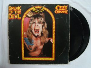 Disco de Vinil Ozzy Osbourne - Speak of the Devil - Duplo