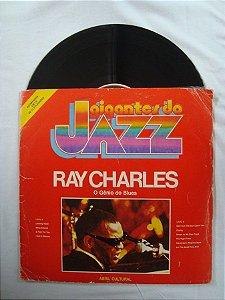 Disco de Vinil - Gigantes do Jazz - Ray Charles - O Gênio do Blues