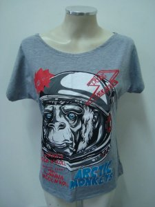 Blusinha gola canoa Arctic Monkeys - Wanna rock'n'roll
