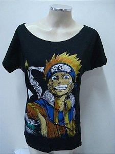 Blusinha gola canoa - Naruto