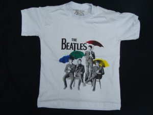 Camiseta Infantil The Beatles