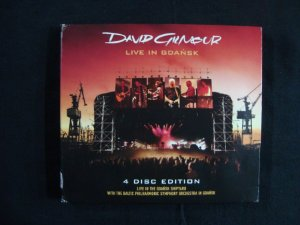 CD David Gilmour - Live in Gdansk 4 CD Edition - Importado
