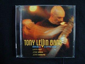 CD Tony Levin Band - Double Espresso - Importado Duplo