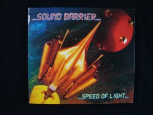 CD Sound Barrier - Speed of Light - Importado