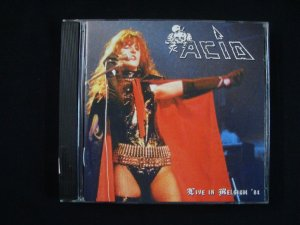 CD Acid - Live in Belgium 1984 - Importado