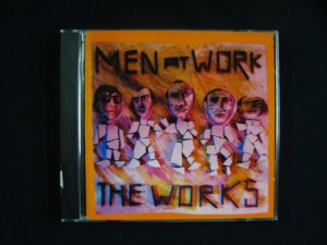 CD Men at Work - The Works