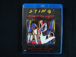 Blu-ray Sting - Bring on the night