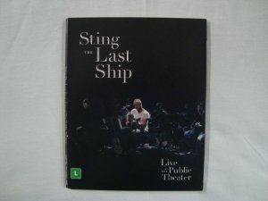 DVD Sting - The Last Ship - Live at the public theater