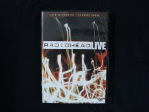 DVD Radiohead - Live in Concert