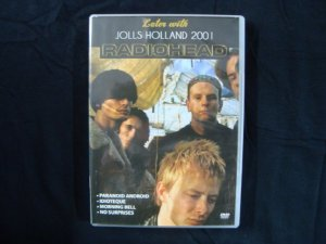 DVD Radiohead - Jolls Holland 2001