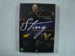 DVD Sting - Live from Viña del mar