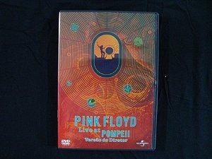 DVD Pink Floyd - Live at Pompeii - Versão do Diretor