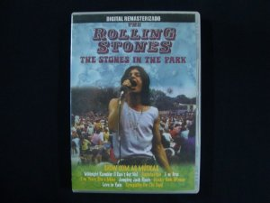 DVD The Rolling Stones - The Stones in the Park