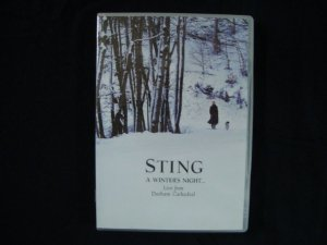 DVD Sting - A Winter's Night - Live from Durham Cathedral duplo