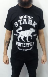 Camiseta Game of Thrones - House Stark - The North Remembers