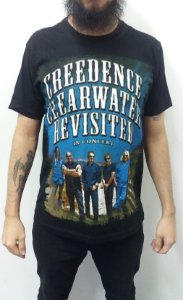Camiseta Creedence Clearwater Revival - In Concert