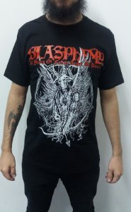 Camiseta Blasphemy - 20 Years of Fallen Angel of Doom