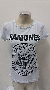 Baby look Ramones - branca