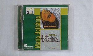 CD Maria Bethânia - 2 em 1
