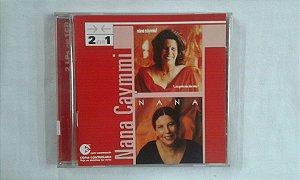 CD Nana Caymmi - 2 em 1 - E a gente nem deu nome + Chora brasileira