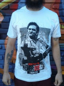 Camiseta Idols Never Die - Johnny Cash