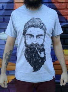 Camiseta The Bearded Man