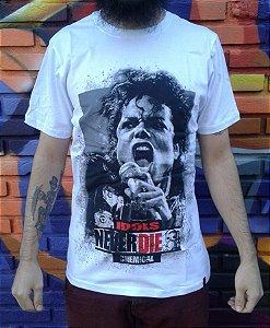 Camiseta Idols Never Die - Michael Jackson