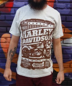 Camiseta Harley Davidson - Trusted Motorcycles