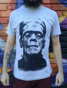 Camiseta Monstro de Frankenstein
