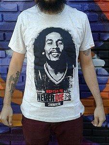 Camiseta Idols Never Die - Bob Marley