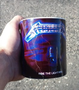 Caneca Metallica - Ride the Lightning