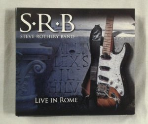 CD Steve Rothery Band - Live in Rome - Importado Triplo
