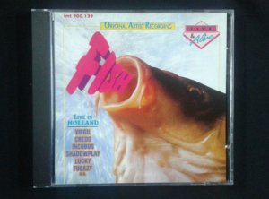 CD Fish - Live USA - Importado