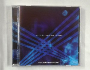 CD Marillion - Holidays in Eden - Live 2011 - Duplo Importado