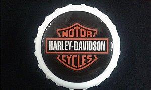 Abridor de Garrafas / Imã - Harley Davidson Motorcycles