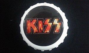 Abridor de Garrafas / Imã - Kiss