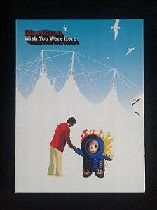 Box 4 DVD's Marillion - Wish You Were Here - Importado
