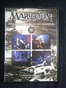 DVD Marillion - From Stoke Row to Ipanema - Duplo
