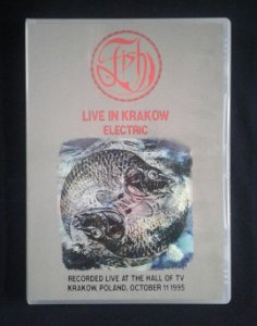 DVD Fish - Live in Krakow - Electric - 1995 - Importado