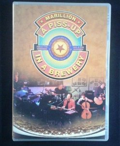 DVD Marillion - A Piss-up in a Brewery - Importado