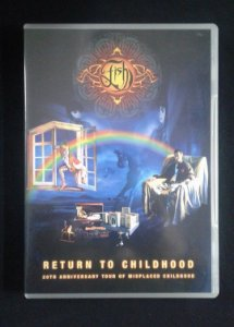 DVD Fish - Return to Childhood - 20th Anniversary - Importado