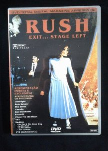 DVD Rush - Exit...Stage Left