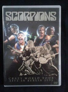 DVD Scorpions - Crazy world tour - Live in Berlin 1991