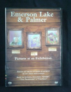 DVD Emerson Lake and Palmer - Pictures at an Exhibition - DVD de revista
